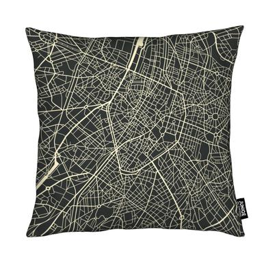 City Maps Series 3 Series 3 - Brussels Kussen