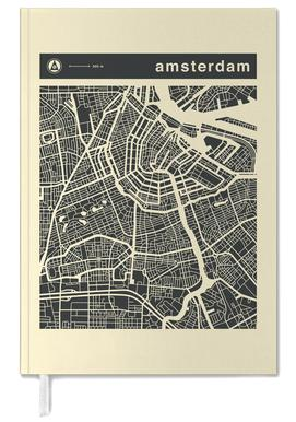 City Maps Series 3 - Amsterdam Terminplaner
