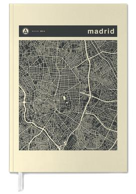 City Maps Series 3 - Madrid -Terminplaner