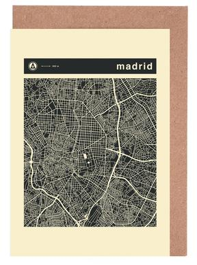 City Maps Series 3 - Madrid wenskaartenset