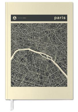 City Maps Series 3 - Paris -Terminplaner