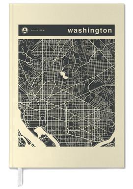 City Maps Series 3 - Washington -Terminplaner