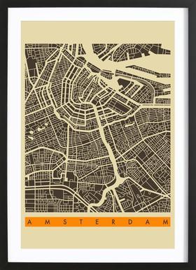 Amsterdam II Framed Print