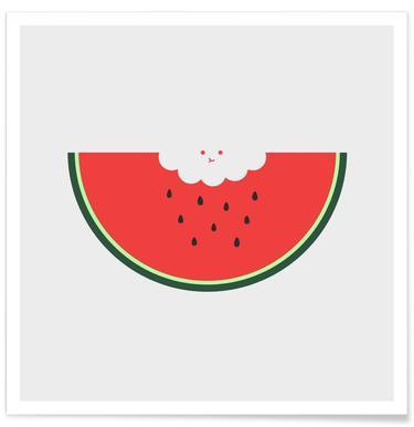 Water Melon Affiche