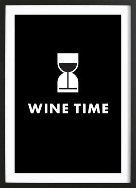 Wine Time ingelijste print