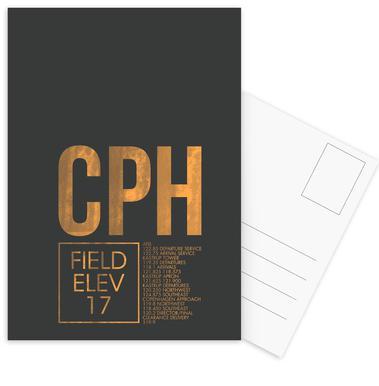 CPH Copenhagen Postcard Set