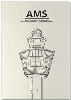AMS Amsterdam Tower Bloc-notes