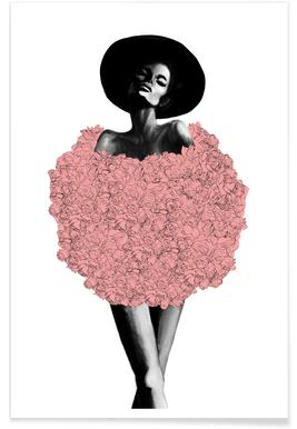 Rose Fur Poster