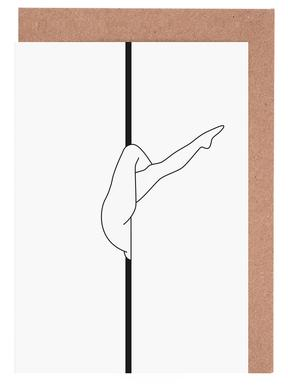 Poledance Greeting Card Set