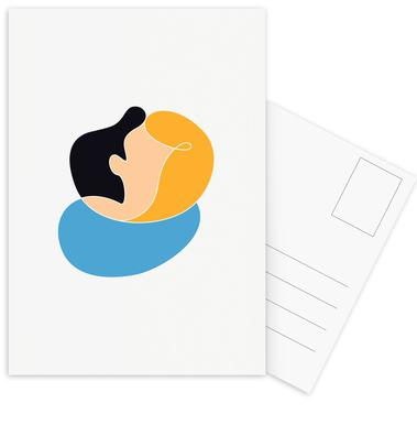 Melting Postcard Set