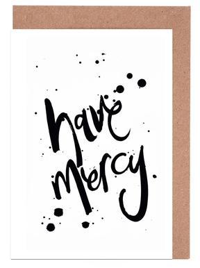 Mercy Set de cartes de vœux