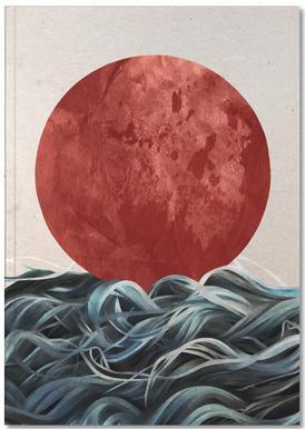 Sunrise in Japan Notebook
