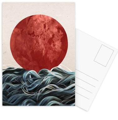 Sunrise in Japan Postcard Set