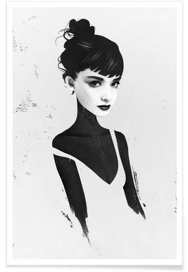 Oh, Audrey -Poster