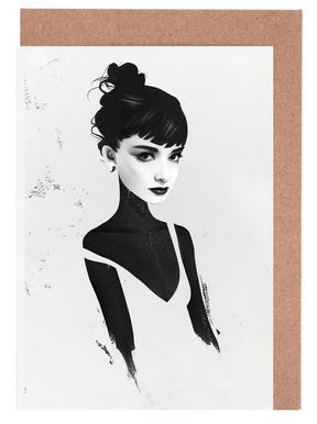 Oh, Audrey -Grußkarten-Set