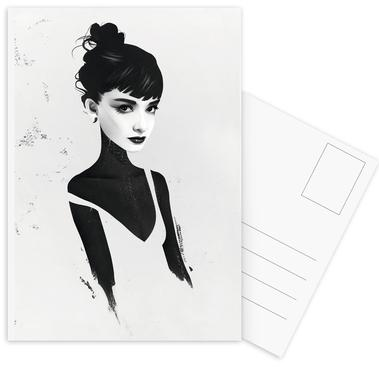 Oh, Audrey Postcard Set