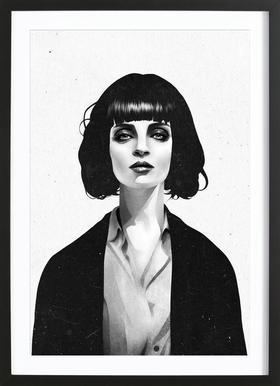 Mrs Mia Wallace Framed Print