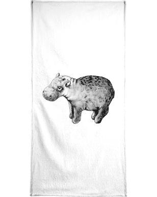 Hippo serviette de bain