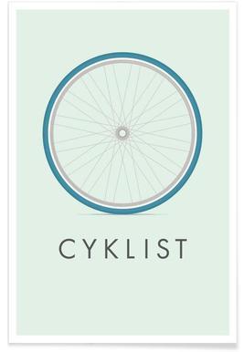 Cyklist Poster