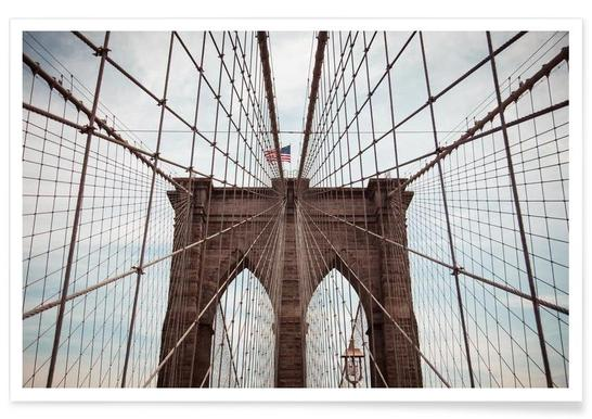 Brooklyn Bridge Affiche