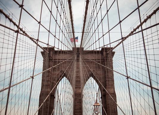 Brooklyn Bridge Leinwandbild