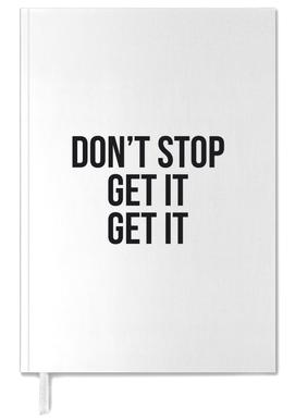 Don't Stop Get It Get It Personal Planner