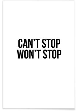 Can't Stop Won't Stop Poster