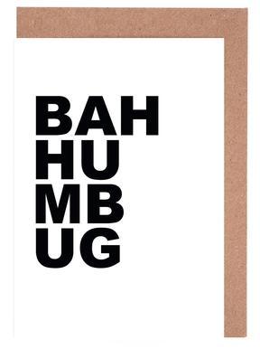 Bah Humbug cartes de vœux