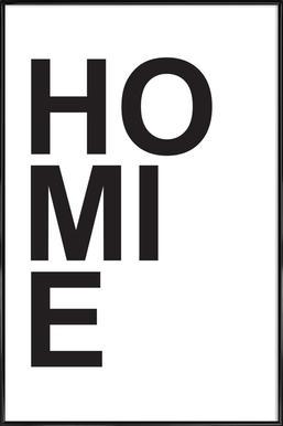 homie Poster in Standard Frame