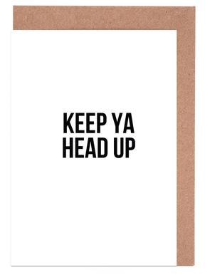 Keep Ya Head Up cartes de vœux
