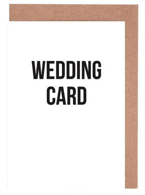 Wedding Card En Affiche Par Cult Paper Juniqe