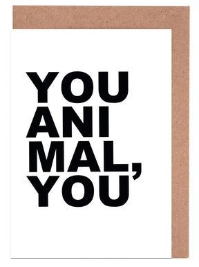 You Animal You cartes de vœux
