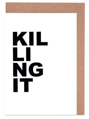 Killing It cartes de vœux