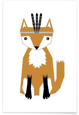 Southwest Fox Affiche