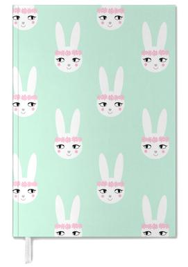 Easter Bunny Mint Personal Planner