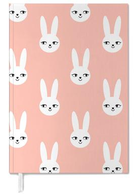 Easter Bunny Peach Personal Planner