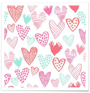 Valentines Pretty Poster