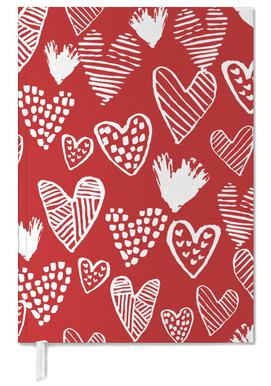 Valentines Red Personal Planner