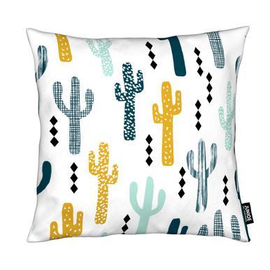 Cactus Mustard Cushion
