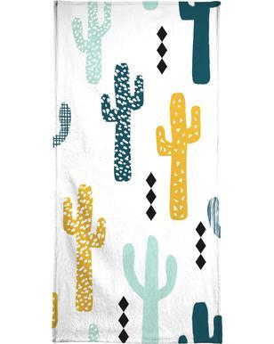 Cactus Mustard Serviette de bain