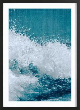 Print 211 Poster in Wooden Frame