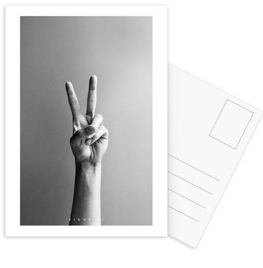 Signs  01 Set de cartes postales