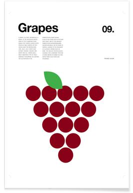 Red Grapes affiche