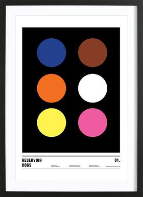 Aperol Spritz As Poster In Wooden Frame By Nick Barclay JUNIQE UK - Minimal movie posters nick barclay