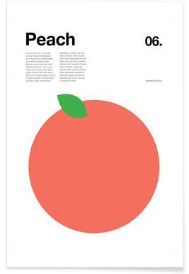 Peach -Poster