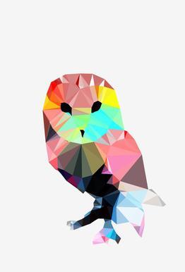 Crystal Owl -Alubild