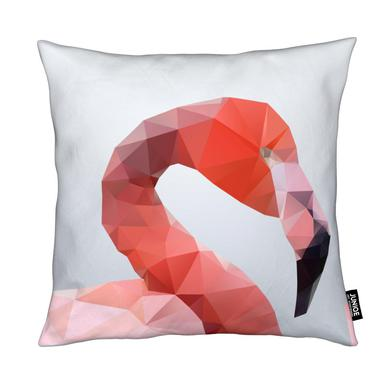 Geo Flamingo Cushion