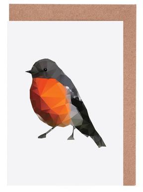 Geo Robin Set de cartes de vœux