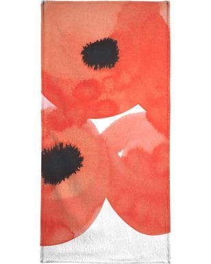 Flowers 002 serviette de plage