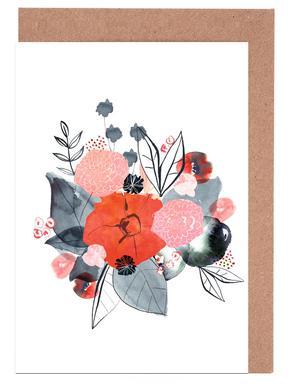 Flowers Grußkartenset